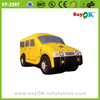 2015 yellow ner design inflatable model /inflatable car model