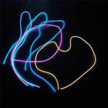 High quality colorful christmas outdoor neon rope lights decoration el wire roll