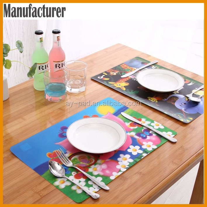 Ay Hot selling Dining Table Mat Cover Handmade Dining Table Mat
