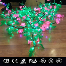 Double-layer-LED- flowers twining plant light for decorating lamp column,tree trunk, ceiling, fence or wall etc