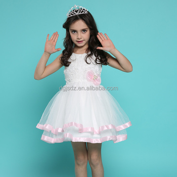 2017 new design kids fancy dress costumes kids western dress