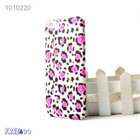 2016 5 Colors Relief Case Leopard Print PC Mobile Phone Case for iphone 6/6s/plus