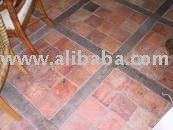 Antique Handmade Terracotta Floor