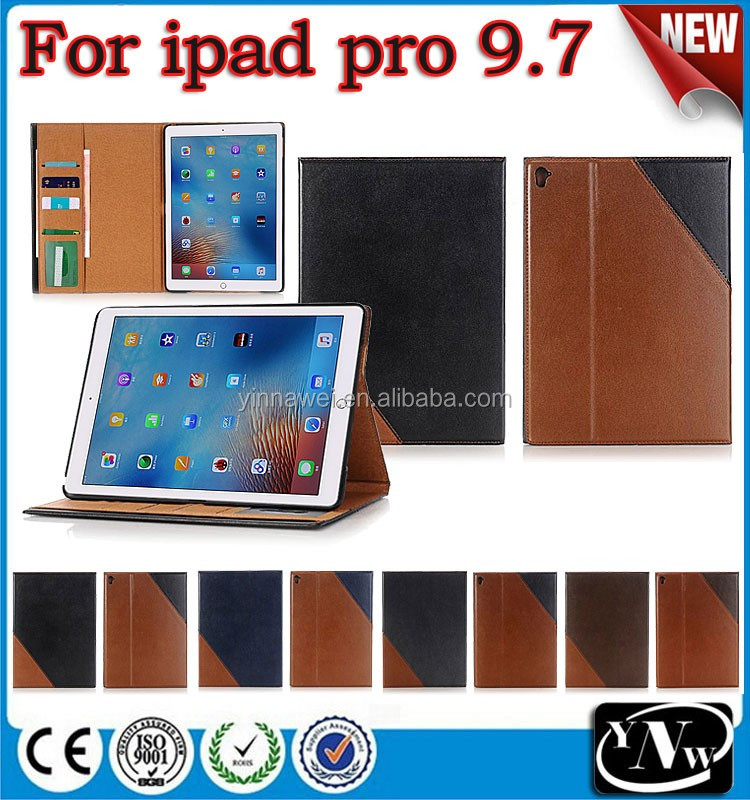 Newest Hot Selling Folding Leather Case Tablet PC Leather Case For iPad air3 cover Flip Case Cover For iPad pro 9.7