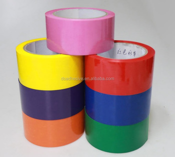 Hot Sale Colorful BOPP Carton Sealing Adhesive Tape