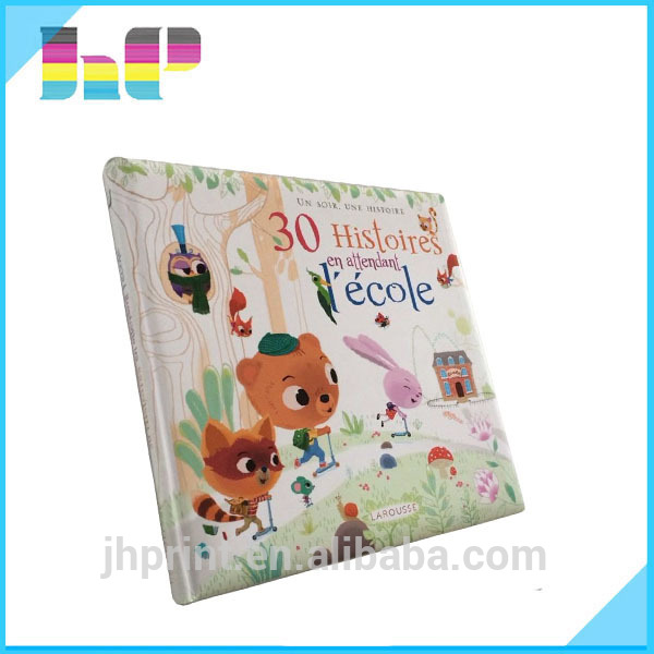 Customized wholesale cheap western style children hardcover book printing