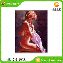 Diy Crystal Diamond Drawing Character Drawing Beautiful Girls Sex Oil Painting