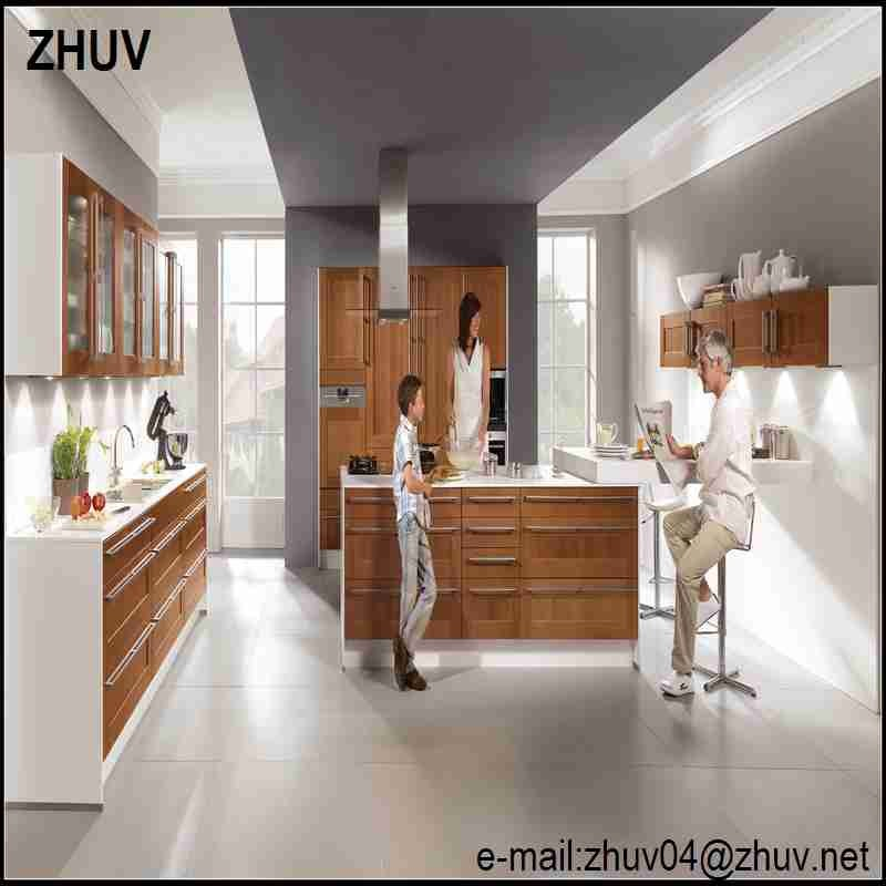 High Gloss Vinyl Wrap Doors Kitchen Cabinets,Lacquer Wood