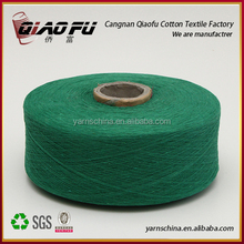 sell ne0.5s - ne12s oe recycled polyester cotton blended open end yarn