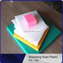 Colored plastic sheets hdpe high density polyethylene