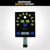 china professional pet material uv resistance outdoor keypad