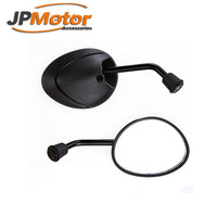 motorcycle parts 8mm 10mm Universal Moped Motorcycle Scooter side mirrors