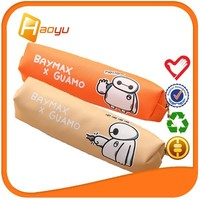 Alibaba supplier promotional cartoon zipper pencil case for girls