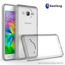 New Mould!New Arrival Clear Blank Back Cellphone Cover Case for Samsung Galaxy On 5 Case
