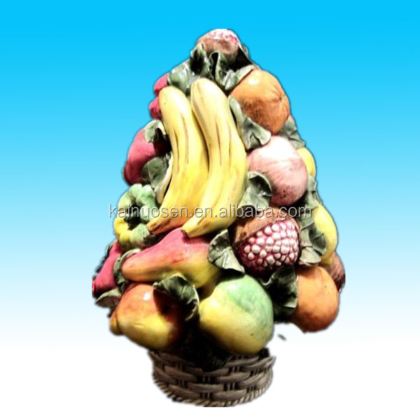 hot sale hand painted decorative ceramic fruit