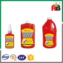 50g 250g Plastic Bottle threadlock adhesive 243