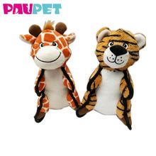 Animal pets non-stuffed stuffed squeaky cute pet toys plush dog toy