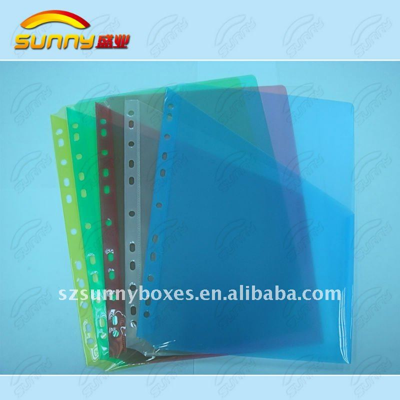 PP plastic Subject file Divider