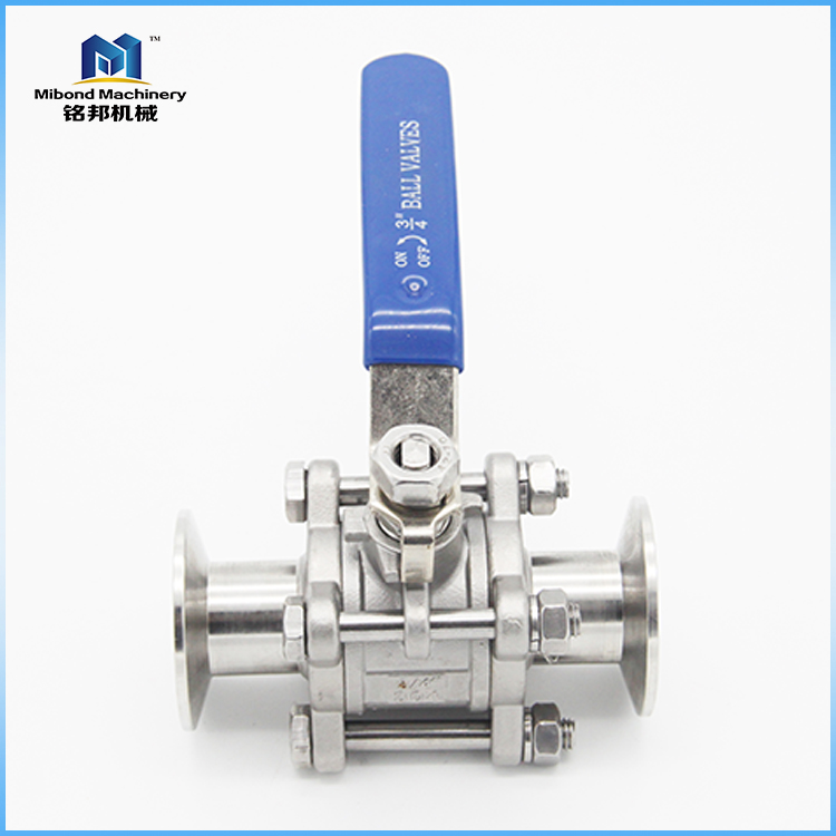 Chinese Manufacturer 2 Inch Sanitary Stainless Steel SS 304/ 316L Ball Valve