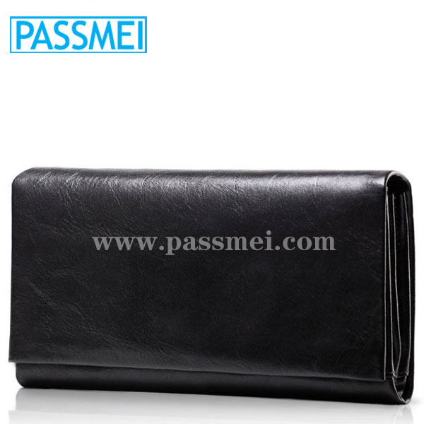 men high quality brand cowhide evening party clutch bags organizer wallet
