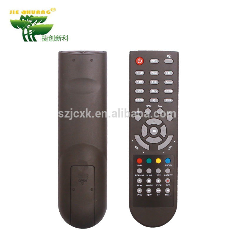 Good quality durable Standard voltage 3V Warranty 1 year universal infrared tv remote control