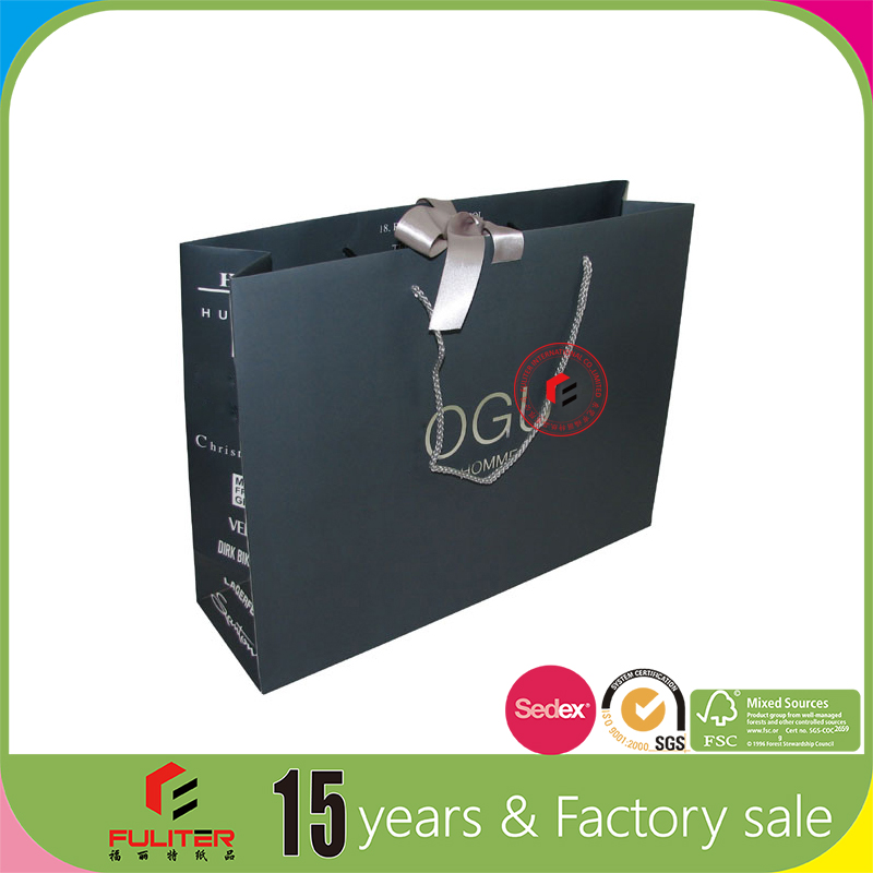Wholesale luxury bags with paper from dongguan