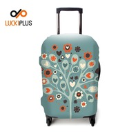 "Luckiplus Luggage Cover Flexible Trolley Case Cover Fits in 18""-32"" For Luggage Decoration Protection"