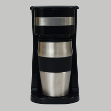 120V/220-240V, 50/60Hz 0.42L,1cup One Cup Drip Portable Coffee Maker Machine