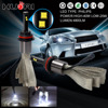 Best Car Motorcycle Headlight Bulbs Fanless LED High Low Beam 9004 Headlight Conversion Kit From China Supplier
