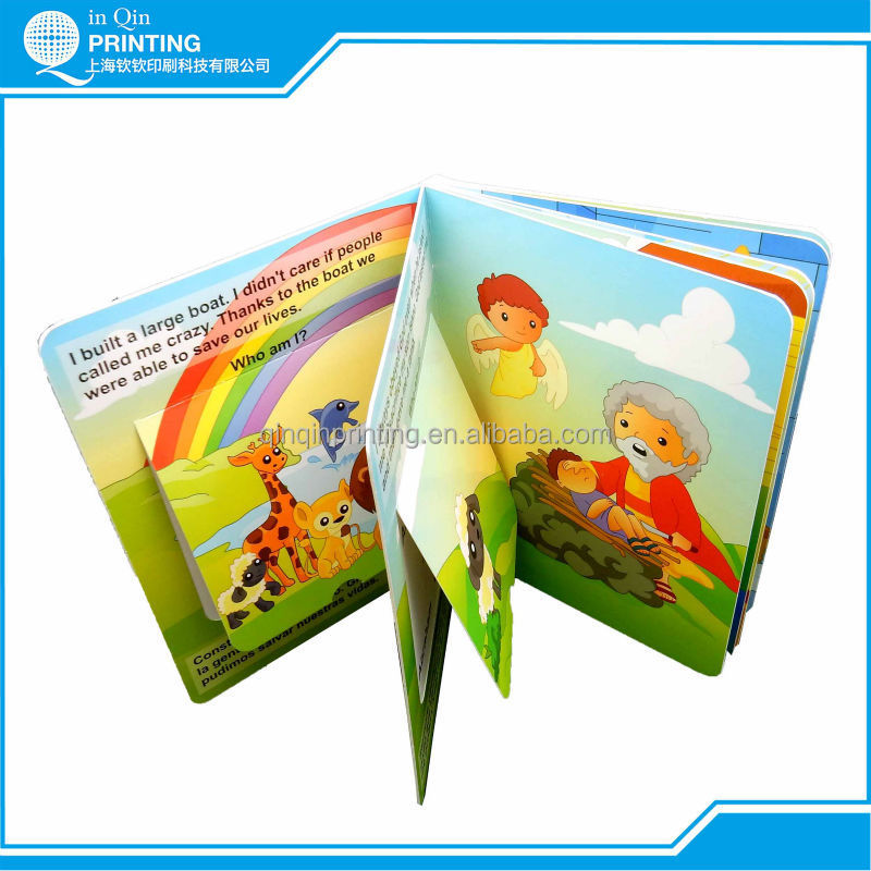 Exciting reading children's favorite pop up book printing with lamination
