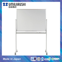 Made in Japan Double sided Magnetic Mobile Whiteboard with stand