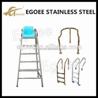 hot sale stainless steel SS304 SS316 swimming pool ladder