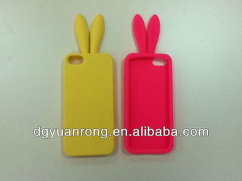 silicon case for phone, cute animal fashion silicone phone case