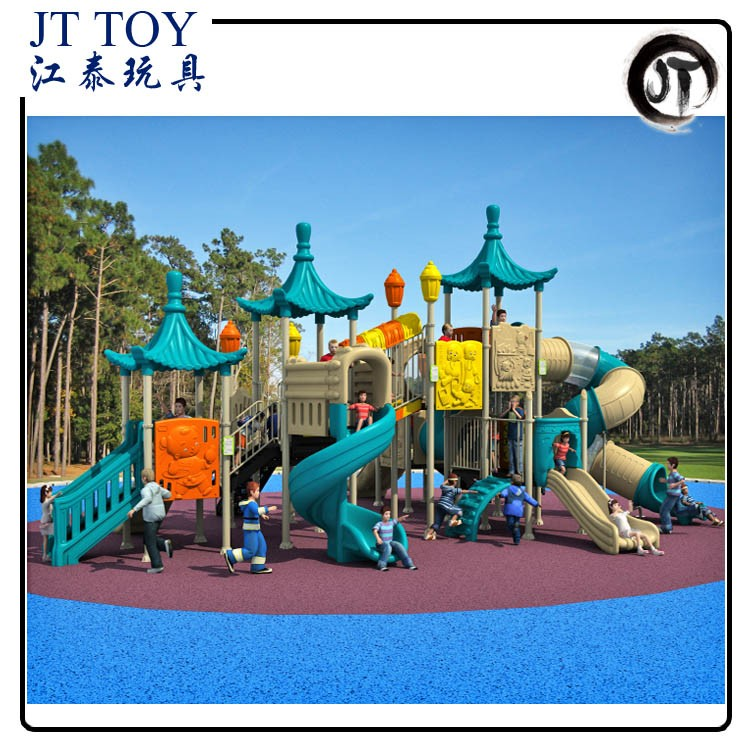 Children park Toys Chinese Style playset JT17-2901 Outdoor Kindergarten Playground Equipment