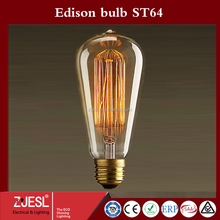 Warm White Color Temperature(CCT) LED Light Source COB LED Filament Bulb ST64
