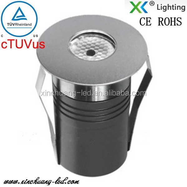 New product for 2015 3w/1w 24volt/12volt Sive view led underground light