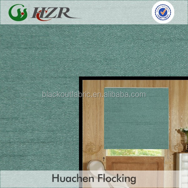 2014 hot selling 100% polyester silicone coated slub curtain fabric