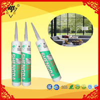 Water resistant ge silicone free sealant with white/clear color