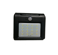NEW 16 LEDs Solar Light PIR Motion Sensor solar Lamp 3 mode IP65 Outdoor wall lamp solar garden light
