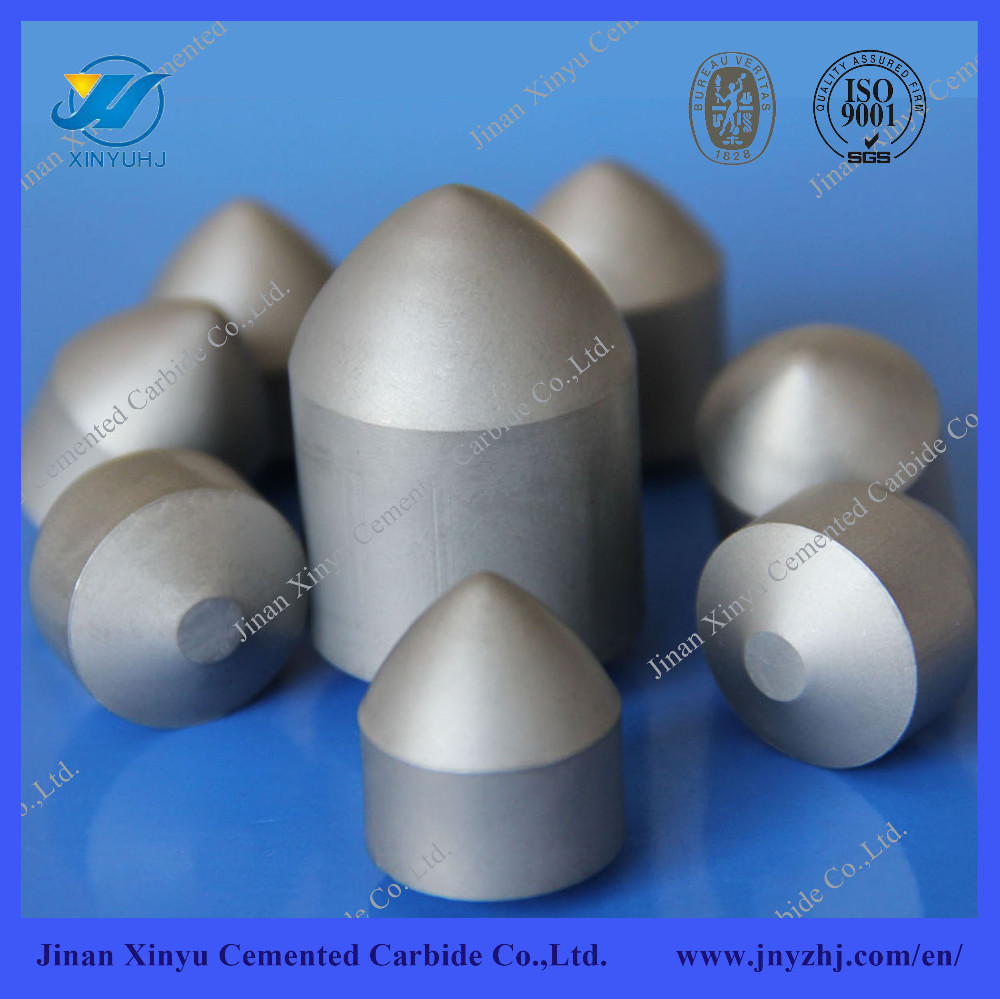 Professional manufacture cemented carbide different types of buttons
