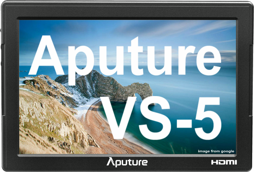 Professional Aputure VS-5 1920*1200 waveform vectorscope HD-SDI 7 inch field monitor for DSLR Camera Camcorder