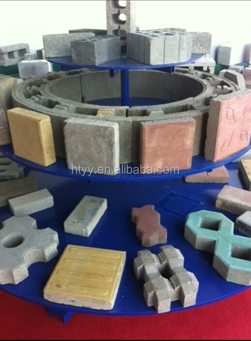 3d printer concrete block machine with color feeder paving block making machine