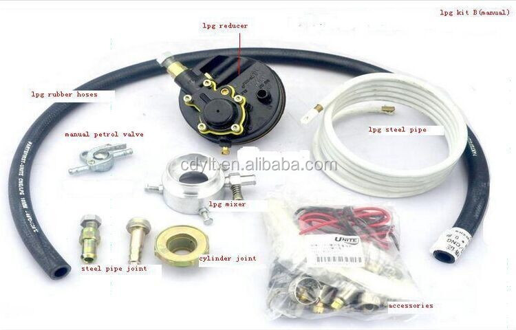 3 wheel motorcycle kits lpg motorcycle cylinder kit