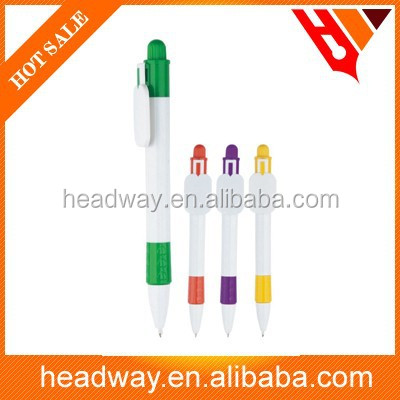 2015 Ad promotion logo press plastic ball pen
