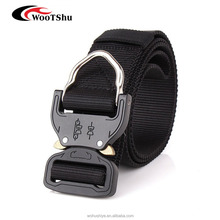 Tactical Rigger D-Ring Waist Belt Clip Compact Rappel Universal CQB Military Web Nylon Sport 15inch Metal Buckle Mens Band