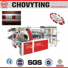 vest and flat rubbish continuous bag on roll bag making machine