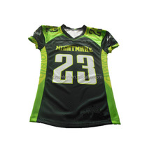 Team custom made sublimated American football shirts