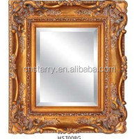 Modern Wood Mirror Frame Photos Decorative