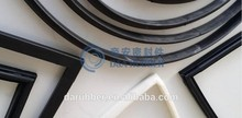 V shaped silicone gasket edge seal