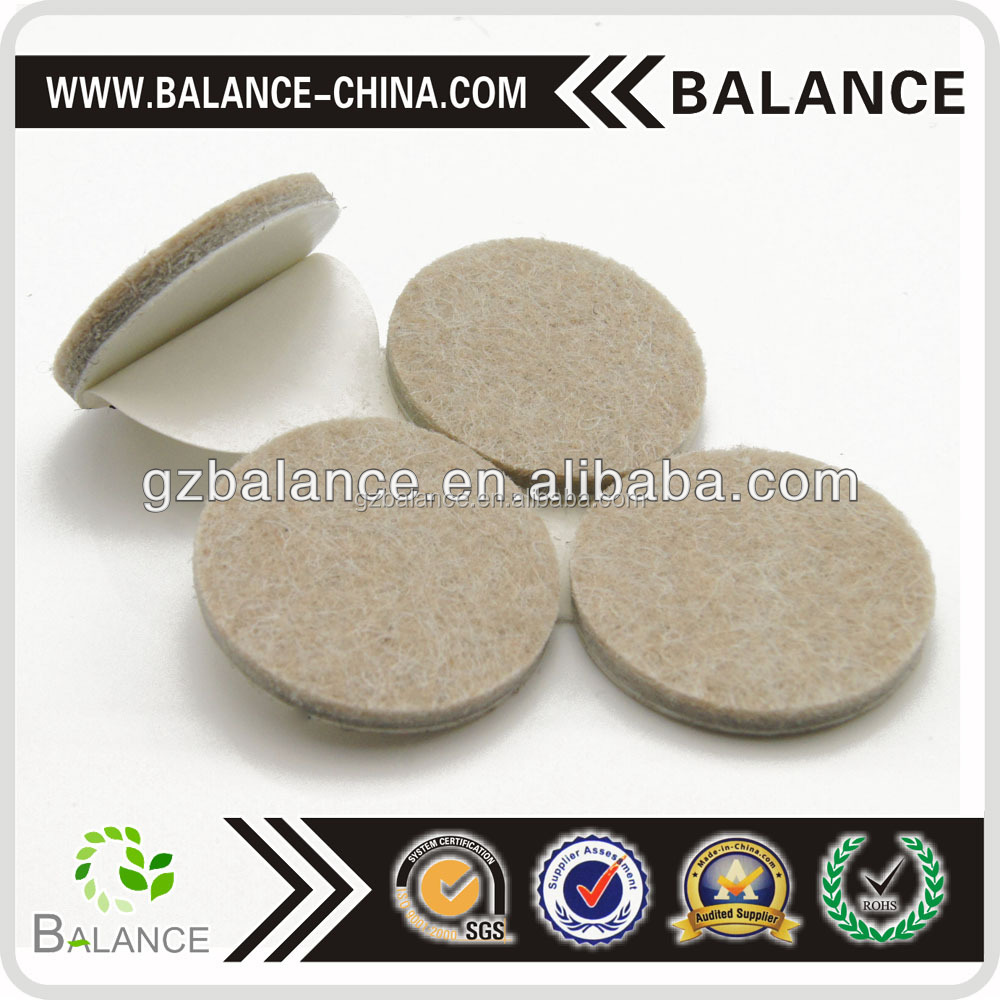 Self Adhesive Heavy Duty Floor Protectors felt pads for Furniture Legs
